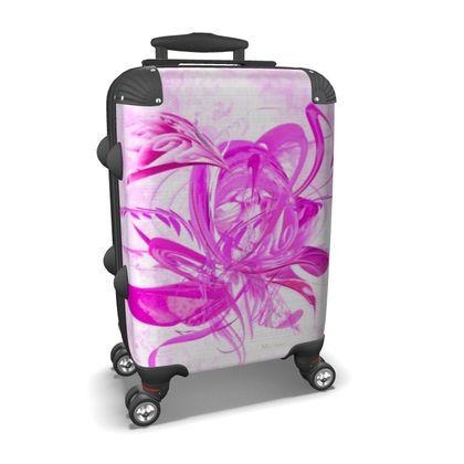 Suitcase (hand luggage) - Resväska  (handbagage) - Ice pink pink