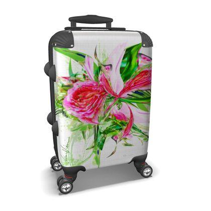 Suitcase (hand luggage) - Resväska  (handbagage) - Pastells white