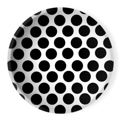 Fruit Bowl Polka Dots