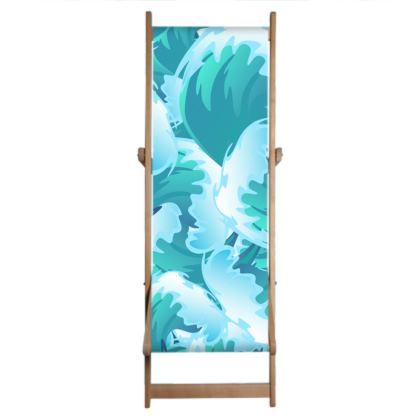 Tropical Wave Deckchair Sling by Likoca Beach