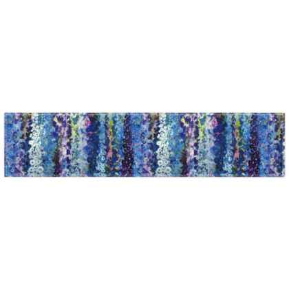 Delphiniums Scarf Wrap