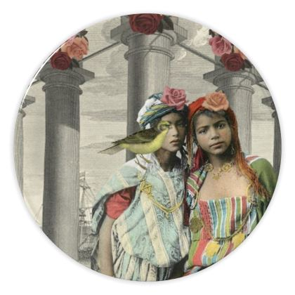 I Never Promised You A Rose Garden China Plate