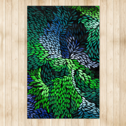 Night in the Fruit Forest Rug