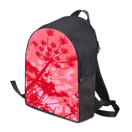 Backpack - Florals Red
