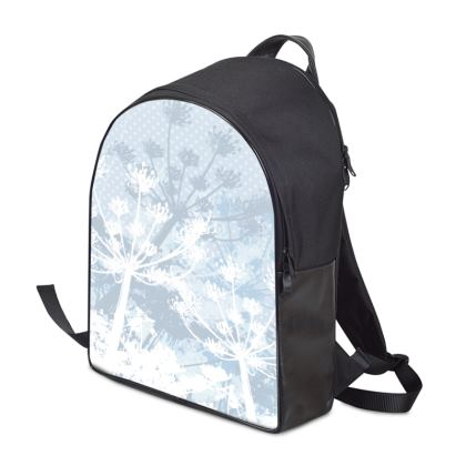 Backpack - Florals White