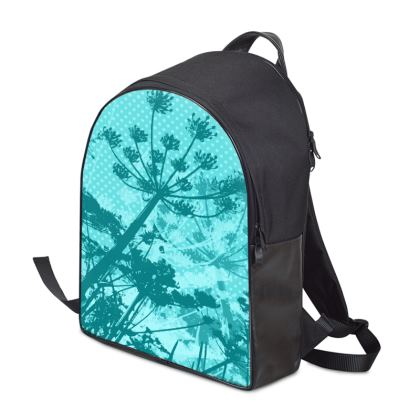 Backpack - Florals Aqua