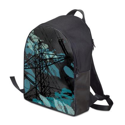 Backpack - Leaves Black