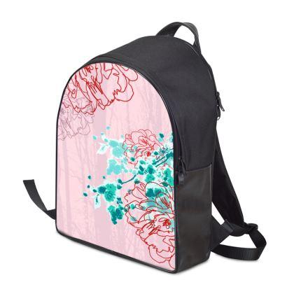 Backpack - Florals Pink