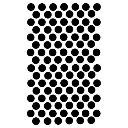 Socks Black Polka Dots