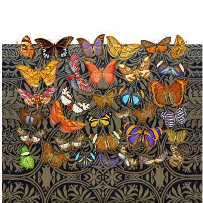 Butterfly Garden Big Bolster Cushion