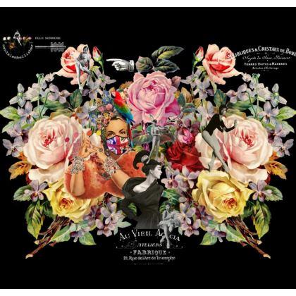 Nuit des Roses 2020 Shari Fabric Cover