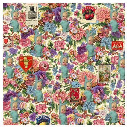 Mon Lapinou d'Amour Shari Fabric Cover
