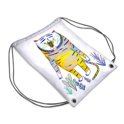 Tiger Swim Bag