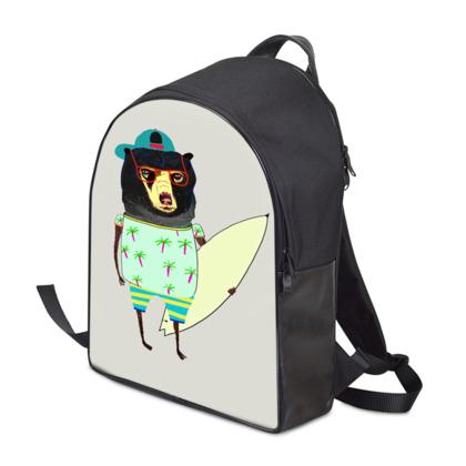 Surf Bear Backpack