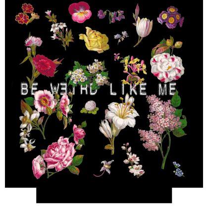 Be Weird Like Me Socks