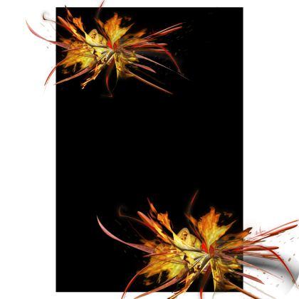 Tunic, T Shirt Dress – Tunika, T-shirt klänning - Fire black