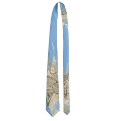 Tie - Slips - 50 shades of lace baby blue