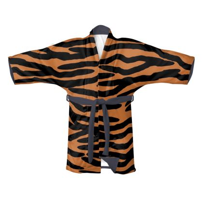 Kimono Tiger Skin Pattern