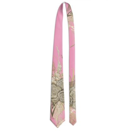 Tie - Slips - 50 shades of lace smooth pink