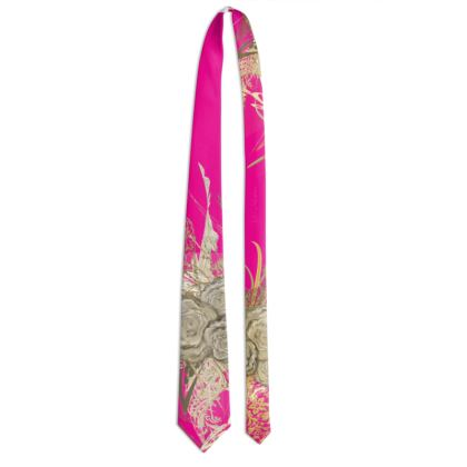 Tie - Slips - 50 shades of lace strong pink