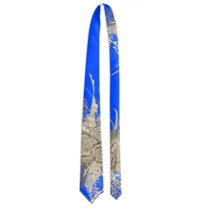 Tie - Slips - 50 shades of lace clear blue