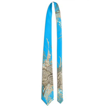 Tie - Slips - 50 shades of lace turquoise