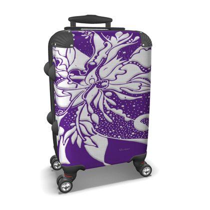 Suitcase (hand luggage) - Resväska  (handbagage) - Ink lila