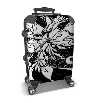 Suitcase (hand luggage) - Resväska  (handbagage) - Ink black