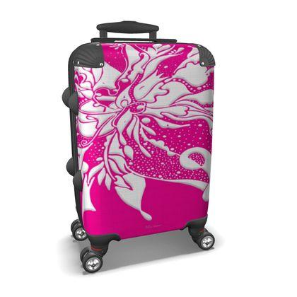 Suitcase (hand luggage) - Resväska  (handbagage) - Ink pink