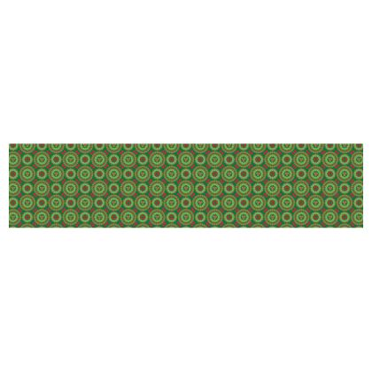 Christmas Brussels sprouts table runner