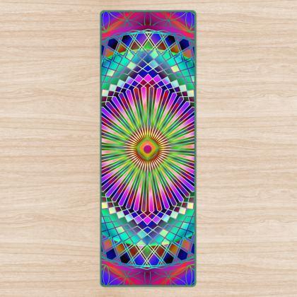 Yoga Mat Mandala Sun