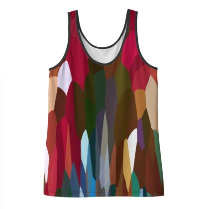 Women's Tank Top Tee Shirt by Ink Circus Designs