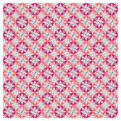Socks Arabesque Geometric Pattern
