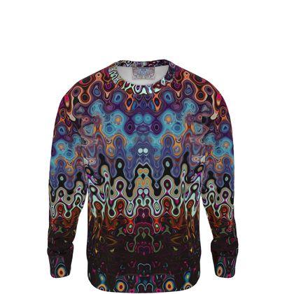 Sweatshirt Colorful Splashes