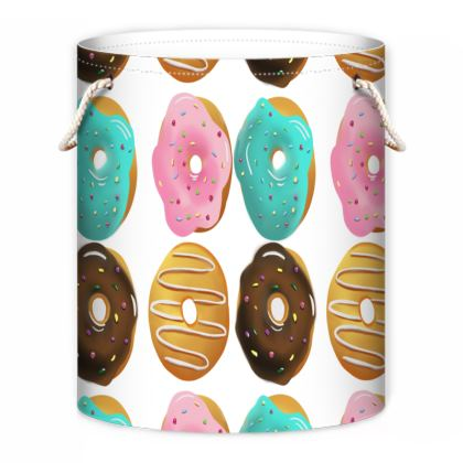 Scrummy Donuts Laundry Bag