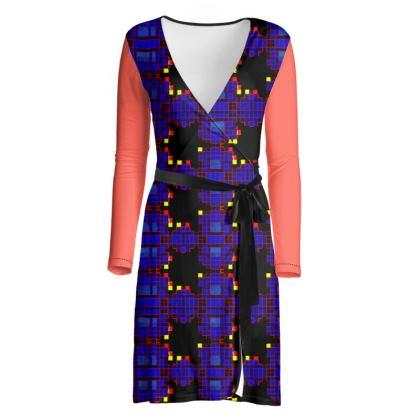 Pelari Design Wrap Dress BIONIC