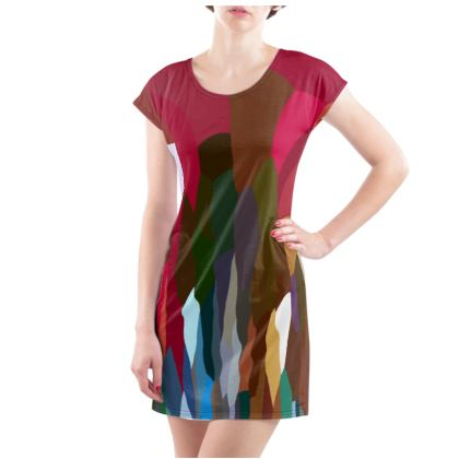 Tee Shirt Dress by Ink Circus Designs