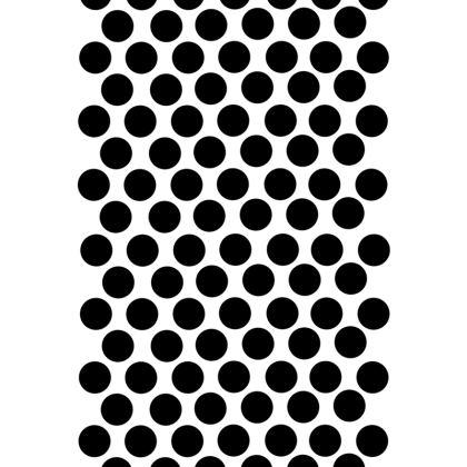 Dressing Gown Black Polka Dots