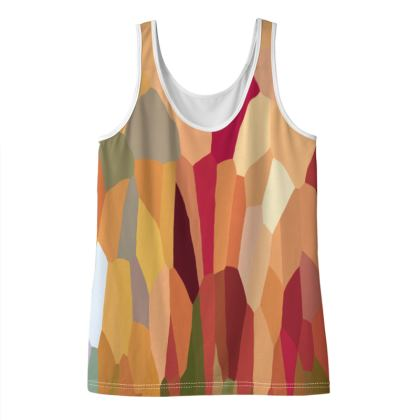 Womens Tank Top Tee Shirt by Ink Circus Designs