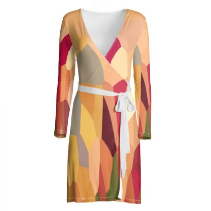 Wrap Dress by Ink Circus Designs