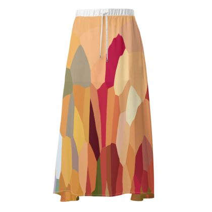 Maxi Skirt by Ink Circus Designs