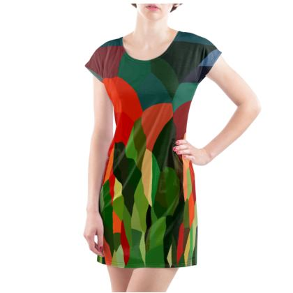 Women's Tee Shirt Dress by Ink Circus Designs