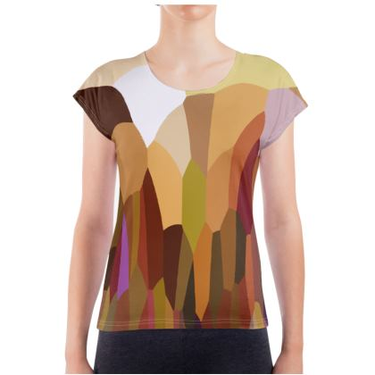 Slouch Tee Shirt by Ink Circus Designs