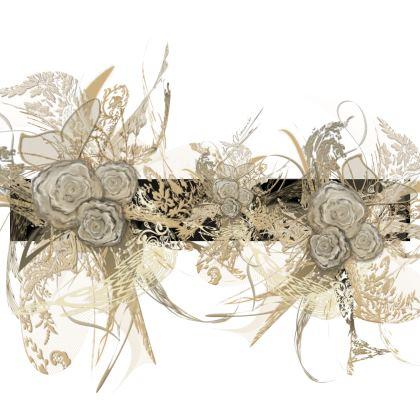 Luggage Strap - Bagageband - 50 shades of lace black