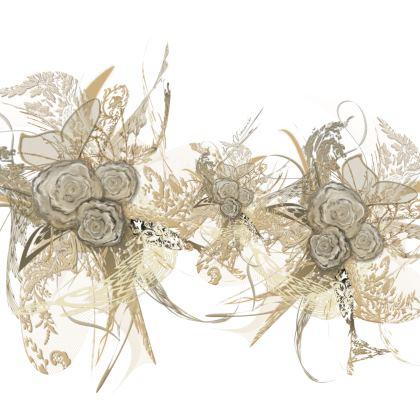 Luggage Strap - Bagageband - 50 shades of lace white