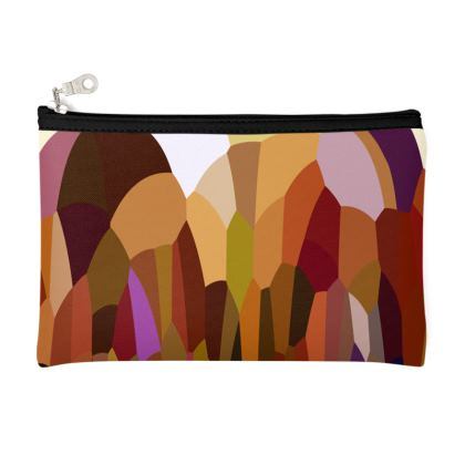 Zip Top Pouch by Ink Circus Designs