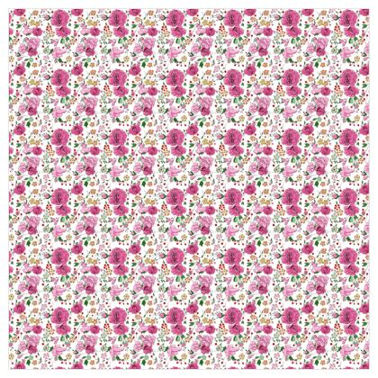 store motif rose fond blanc