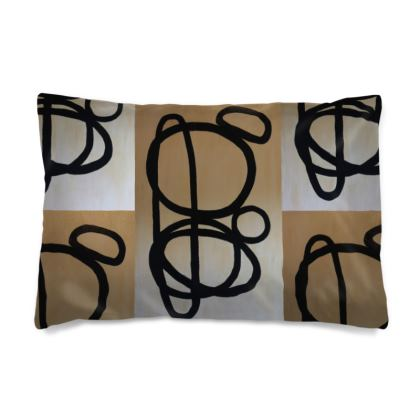 Reiki stones pillow case