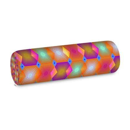 Geometrical Shapes Collection Big Bolster Cushion