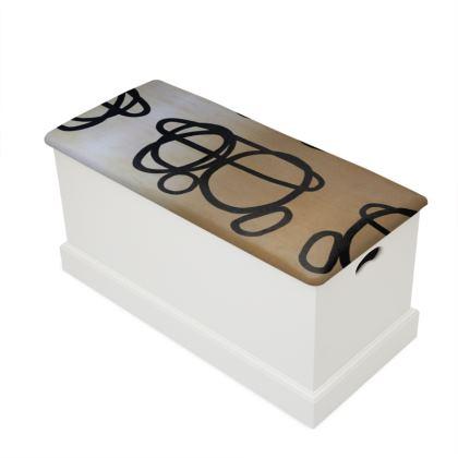 Reiki stones - blanket box